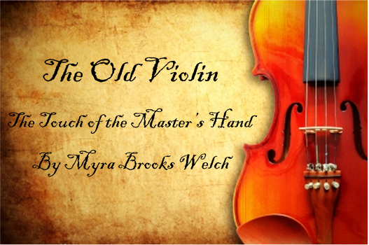 The old violin the touch of the master s hand minivan maverick
